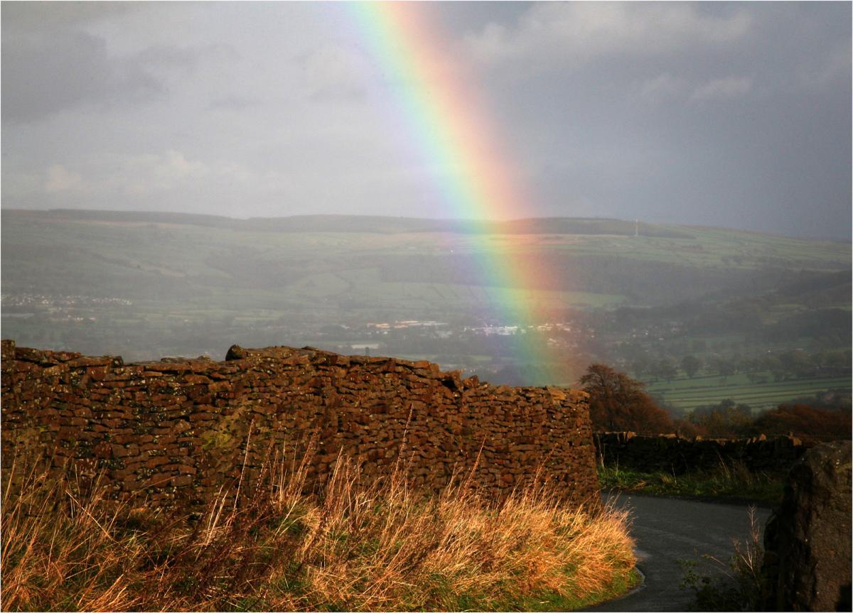 Rainbow, Yorkshire  Peter Bishop