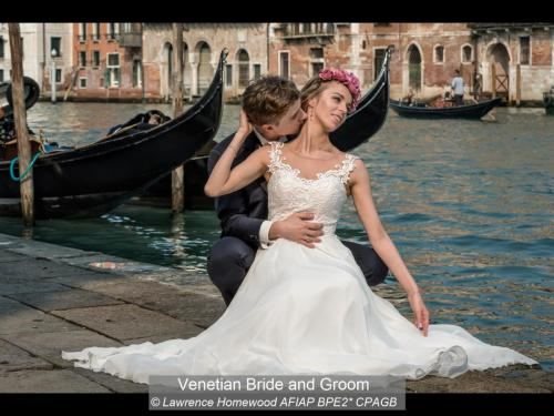 Venetian Bride and GroomLawrence Homewood AFIAP BPE2~ CPAGB
