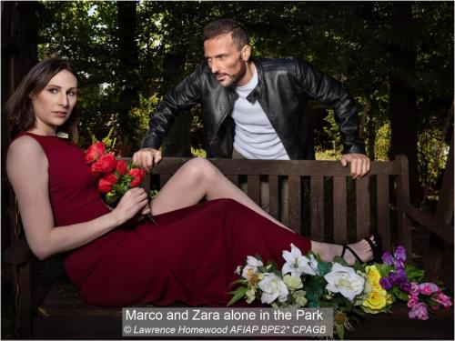 Marco and Zara alone in the Park Lawrence Homewood AFIAP BPE2~ CPAGB