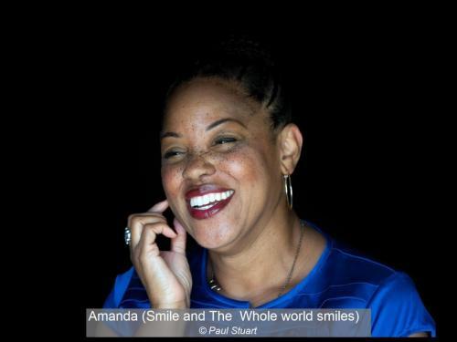 Amanda (Smile and The  Whole world smiles) Paul Stuart