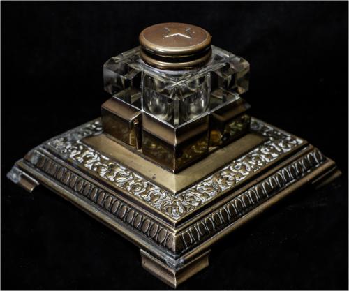 Antique Brass InkwellAnthony Beevor