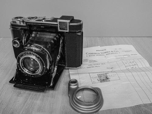 First Camera - Super IKonta with BPH Ikometer No 1Ian Hacke