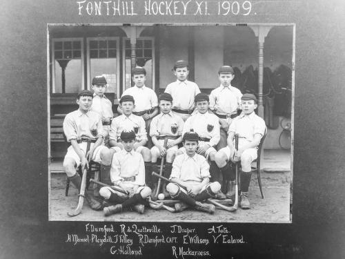 Fonthill School Hockey XI, 1909Ian Hacke