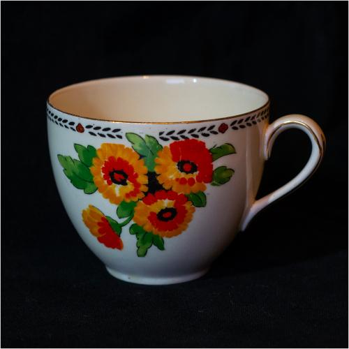 Hand-Painted TeacupAnthony Beevor