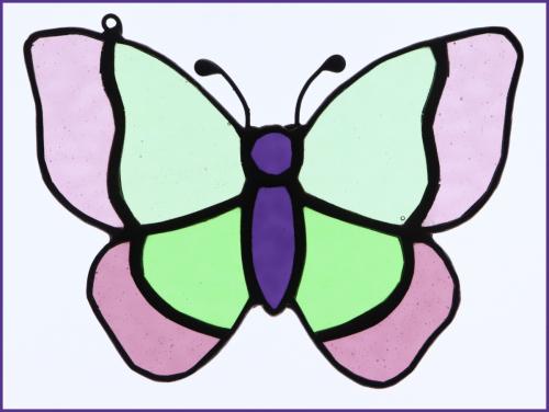 Stained Glass ButterflyHelen Corbin