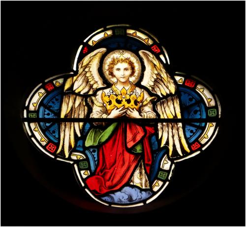 Stained Glass Window - Copthorne ChurchHelen Corbin